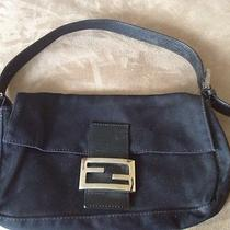 Authentic Fendi Baguette Bag- Black Photo