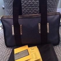 Authentic Fendi Bauletto Tape Jean & Moro Leather Shoulder Bag - New With Tags Photo