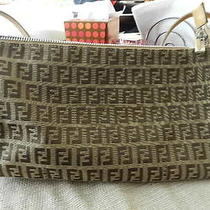 Authentic Fendi Beige Bag Photo
