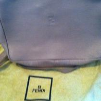 Authentic Fendi Beige Handbag Photo
