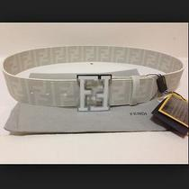 Authentic Fendi Belt Centura College Zucca Sz 100cm (34-36) Photo