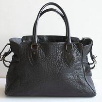 Authentic Fendi Black Leather Tote Bag - Rare and Luxury Item Photo