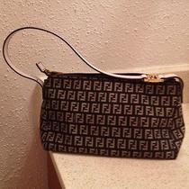 Authentic Fendi Handbag black& White  Photo