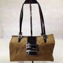 Authentic Fendi Handbag Leather 5e110440 Photo