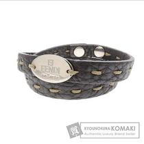 Authentic Fendi Leather  Bracelet   Wild Stitch Photo