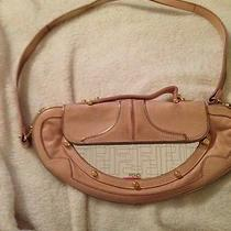 Authentic Fendi Pink Vanity Bag) Photo