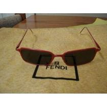 Authentic Fendi Red Sunglasses Photo