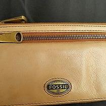 Authentic Fossil  Leather Wallet Pocket Book Cluch Purse Photo