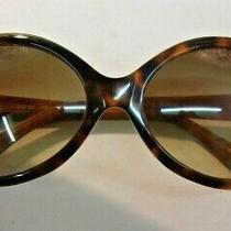 Authentic Fossil Oversized Sunglasses Brown Tortoise Brown Gradient Lens Sig 82 Photo