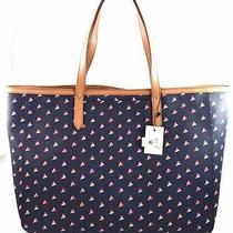Authentic Fossil Sydney Hearts Shopper Tote  Zb6747745  New 128.00   Sold Out Photo