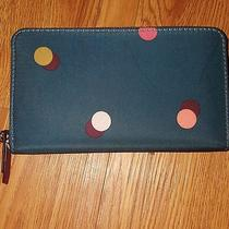 Authentic Fossil Wallet New Polkadot Photo