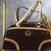 Authentic Genuine Coach Purse Handbag Bag Tote Brown Mint Condition Photo