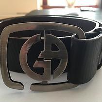 Authentic Georgio Armani Leather Belt Photo