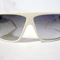 Authentic Gianni Versace Basix Sunglasses Mod 814 in White Size 62-14 - Nos Photo