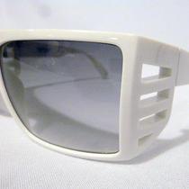 Authentic Gianni Versace Basix Unisex Sunglasses Mod 814 White Size 62-14 - No Photo