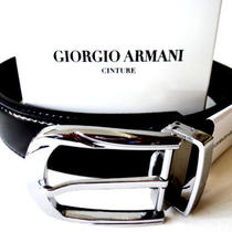 Authentic Giorgio Armani Leather Belt...italy...top Quality..10 Styles to Choose Photo