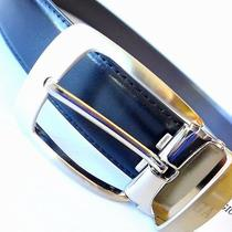 Authentic Giorgio Armani Reversible Leather Belt...ga2570...new Style Photo