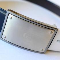 Authentic Giorgio Armani Reversible Leather Belt...large...new Style...ga0981 Photo