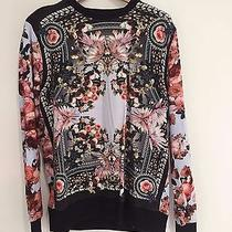 Authentic Givenchy Floral Printed Cotton Sweatshirt Sz Large Rrp1520 Photo