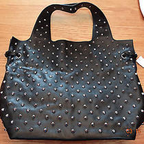 Authentic Givenchy George v Studded Black Leather Tote Limited Edition 2013 Photo