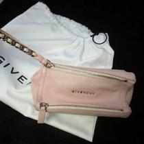 Authentic Givenchy Pandora Blush Pink Mini Wristlet Handbag Photo