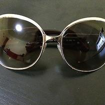 Authentic Givenchy Sunglasses Luxury Gold Light Brown Photo
