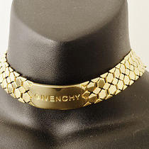 Authentic Gold Plated Givenchy Double Wrap Bracelet Necklace (0438) Photo