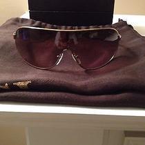 Authentic Gold Prada Sunglasses Unisex Photo