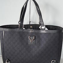 Authentic Gucci 293580  Abbey D Ring Large Gg Guccissima Purse  Tote Handbag Photo