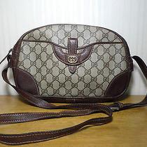 Authentic Gucci Antique Cross Shoulder Bag Photo