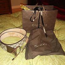 Authentic Gucci Belt 34 85 Photo
