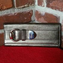 Authentic Gucci Belt Motif Leather Clutch  Photo