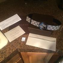 Authentic Gucci Belt Size 32 Photo