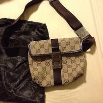 Authentic Gucci Belt/waist Bag/pouch Photo
