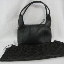 Authentic Gucci Black Pebbled Leather Hobo Handbag Purse Monogram Lv W/dust Bag Photo