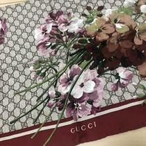Authentic Gucci Bloom Sprint Silk Scarf Free Shipping no.918 Photo