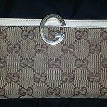 Authentic Gucci Continental Wallet Used Photo