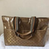 Authentic Gucci Crystal Monogram Tote Bag Photo