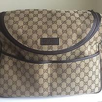 Authentic Gucci Diaper Bag Photo