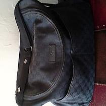 Authentic Gucci Diaper Bag-Black-Nice Photo