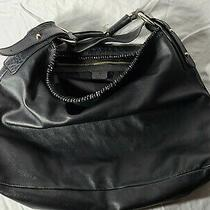 Authentic Gucci Guccissima Large Black Leather Horsebit Hobo Bag Damaged See Pic Photo