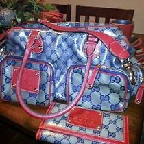 Authentic Gucci Handbag With Matching Wallet Photo