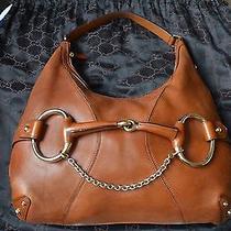 Authentic Gucci Horsebit Hobo Handbag Photo