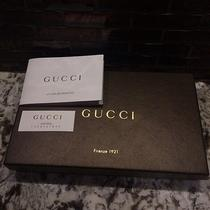 Authentic Gucci  Leather Wallet - Black Used Once Photo