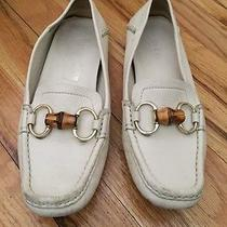 Authentic Gucci Loafers Off White Size 7 Photo