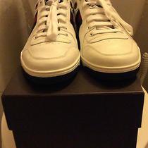 Authentic Gucci Men Low Top Lace-Up Sneaker 10.5 Photo