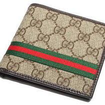 Authentic Gucci Mens Wallet Photo