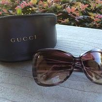 Authentic Gucci Purple Sunglasses Photo