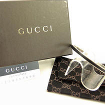 Authentic Gucci Sterling Silver Bangle Bracelet From Japan Photo