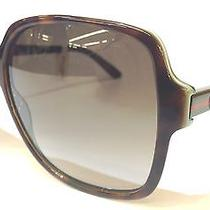Authentic Gucci Sunglasses Gg3582s La2db 57-14 140 New  Photo